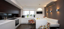 42 مدل خلاقانه دکوراسیون آشپزخانه های کوچک 2014